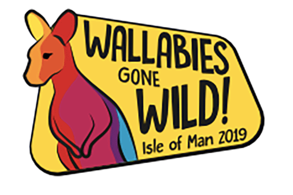 wallabies gone wild logo
