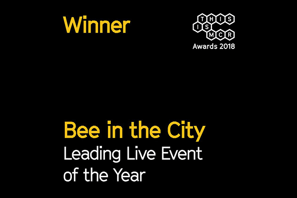 Bee in the City wins This is MCR awards