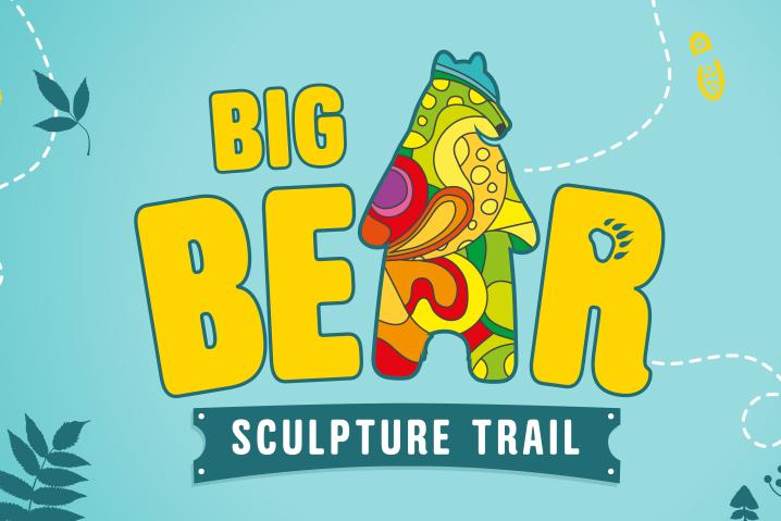 Big bear sculpture trail logo