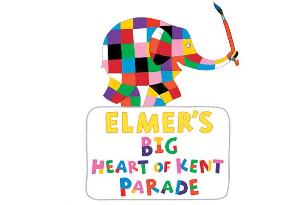 Elmer's Big Heart of Kent Parade logo