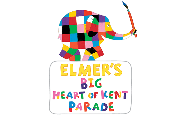 Elmer's Big Heart of Kent Parade logo