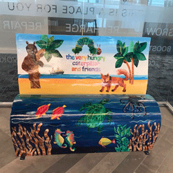 KPMG Cayman Island BookBench