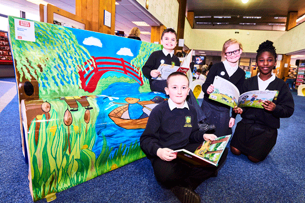 Stoke Reads BookBench