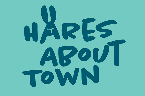 Hares About Town logo