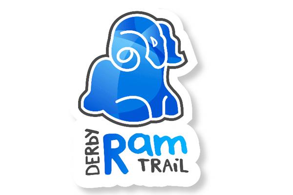 derby ram trail logo
