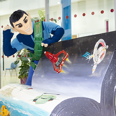Thunderbirds BookBench