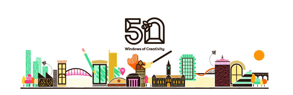 50 Windows of Creativity